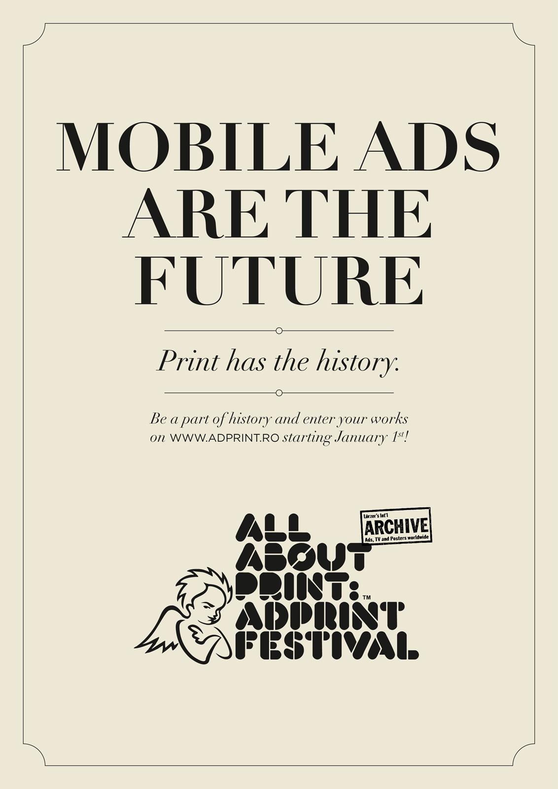 AdPrint Print Ad -  Mobile ads