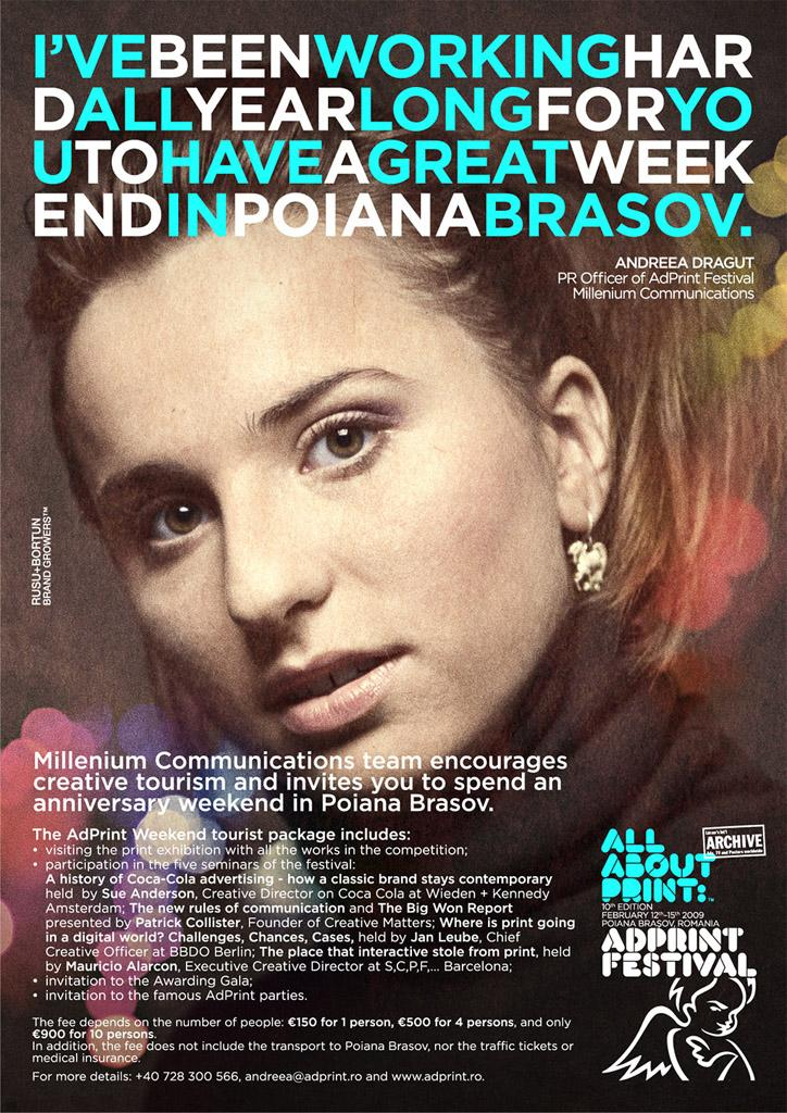 AdPrint Print Ad -  Andreea