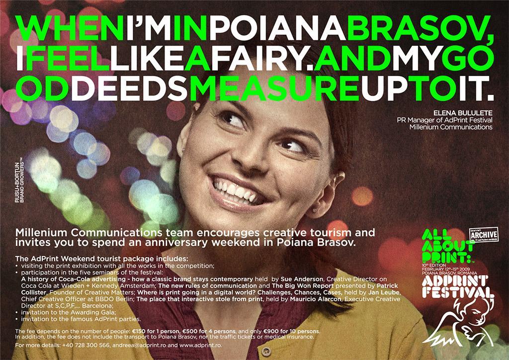 AdPrint Print Ad -  Elena