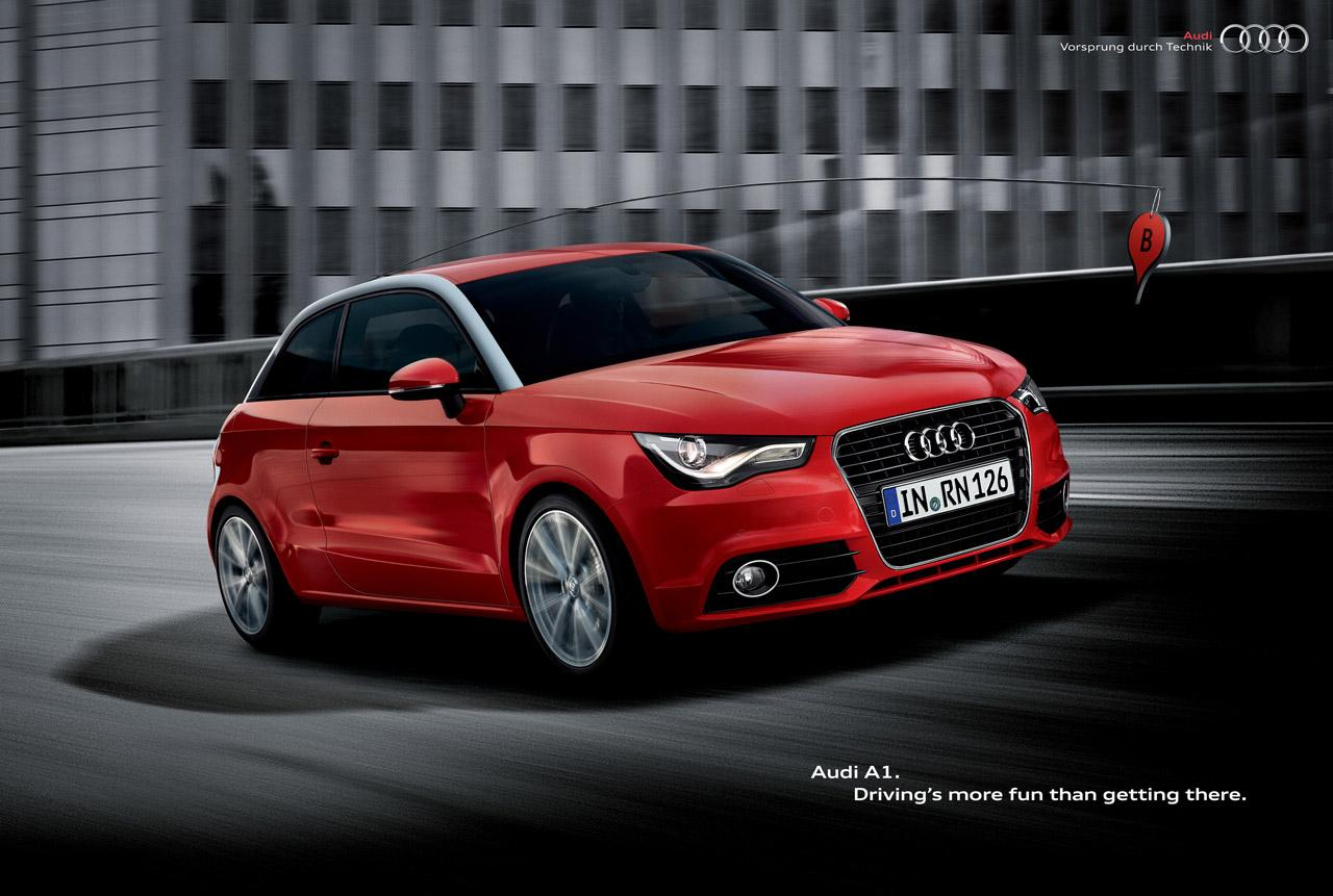 Audi Print Ad -  B