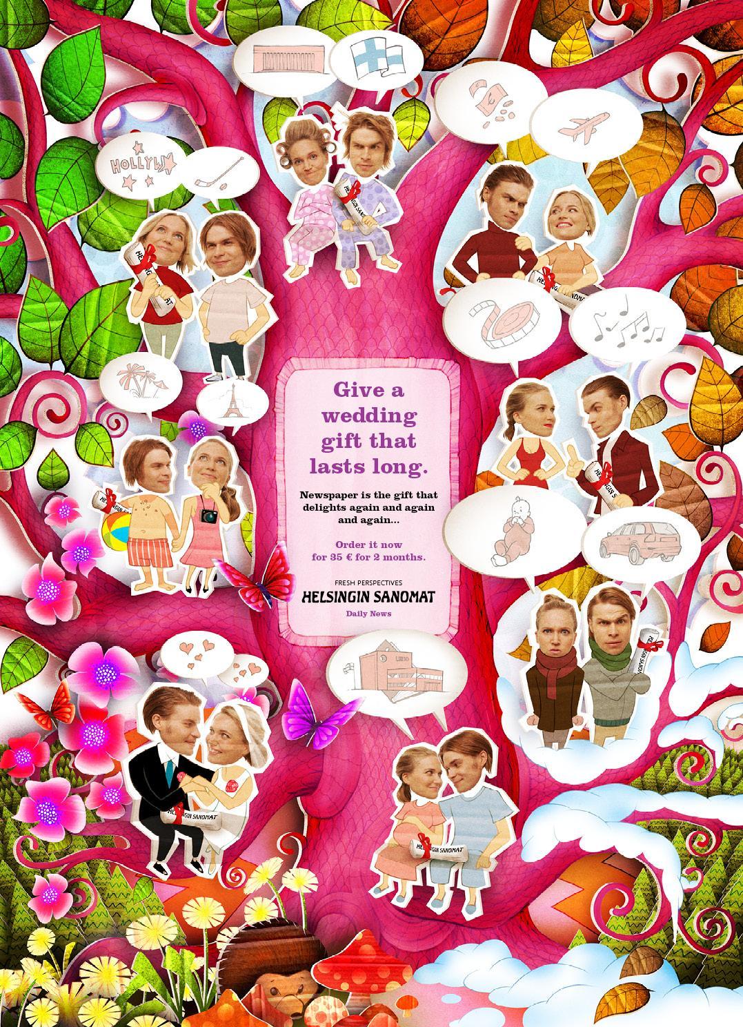 Helsingin Sanomat Print Ad -  Wedding