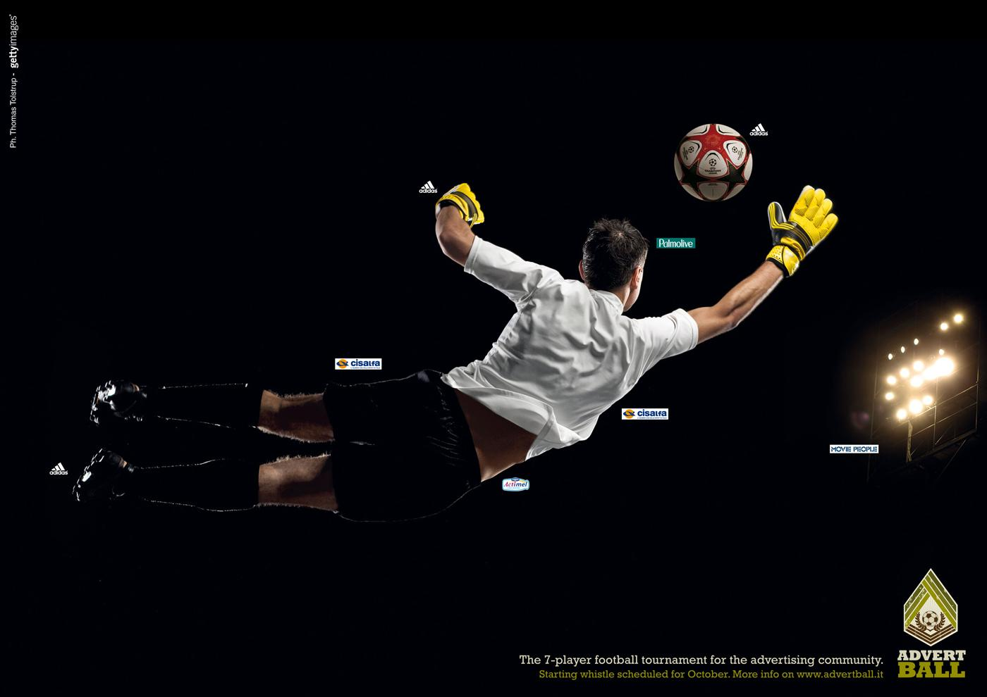 Advertball Print Ad -  Football, 2