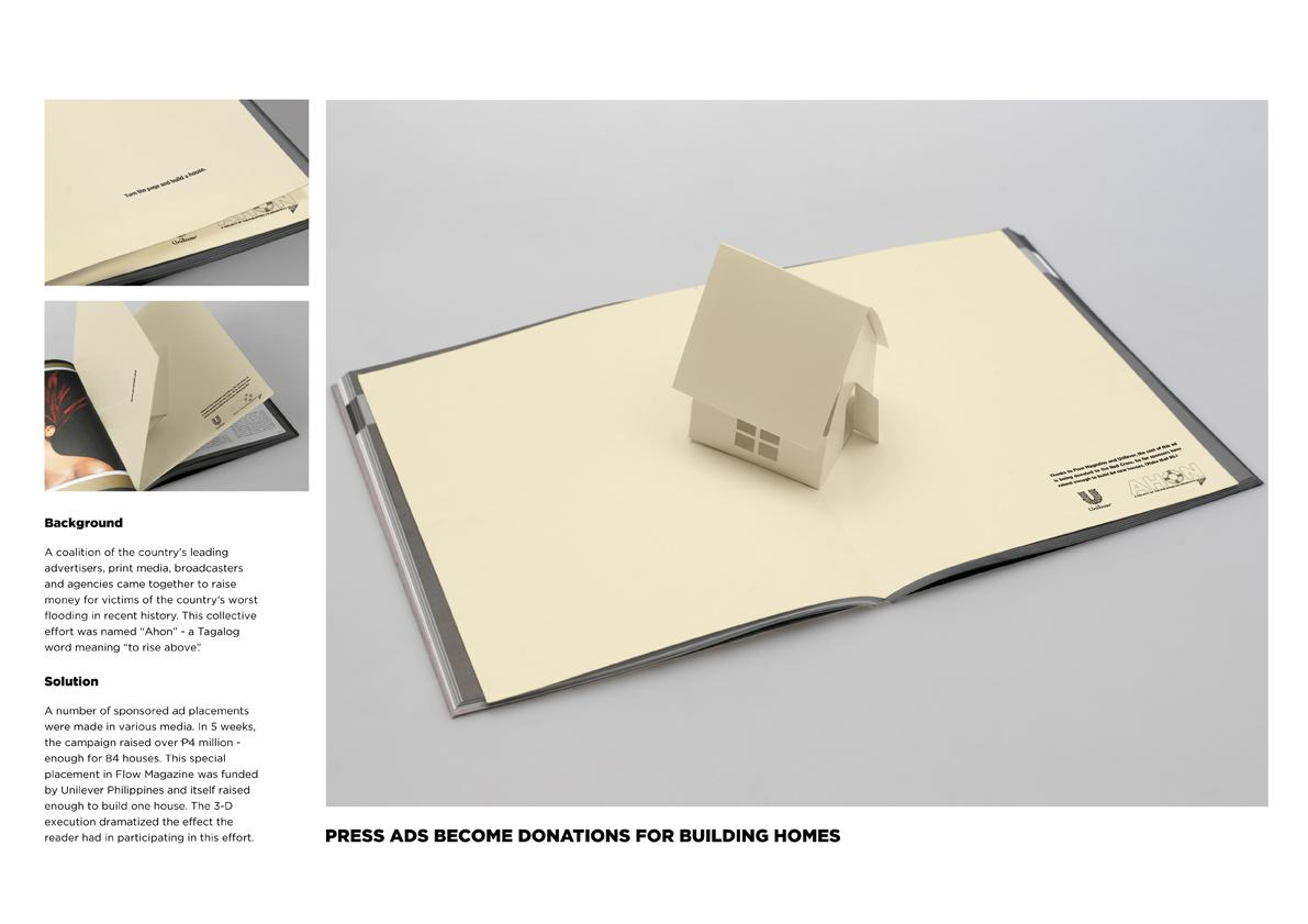 Ahon Print Ad -  Pop Up House