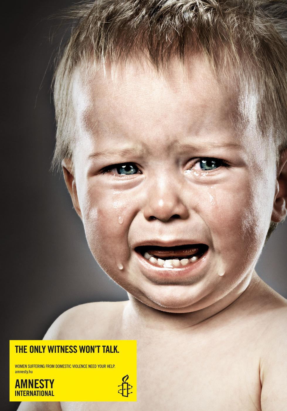 Amnesty International Print Ad -  Boy