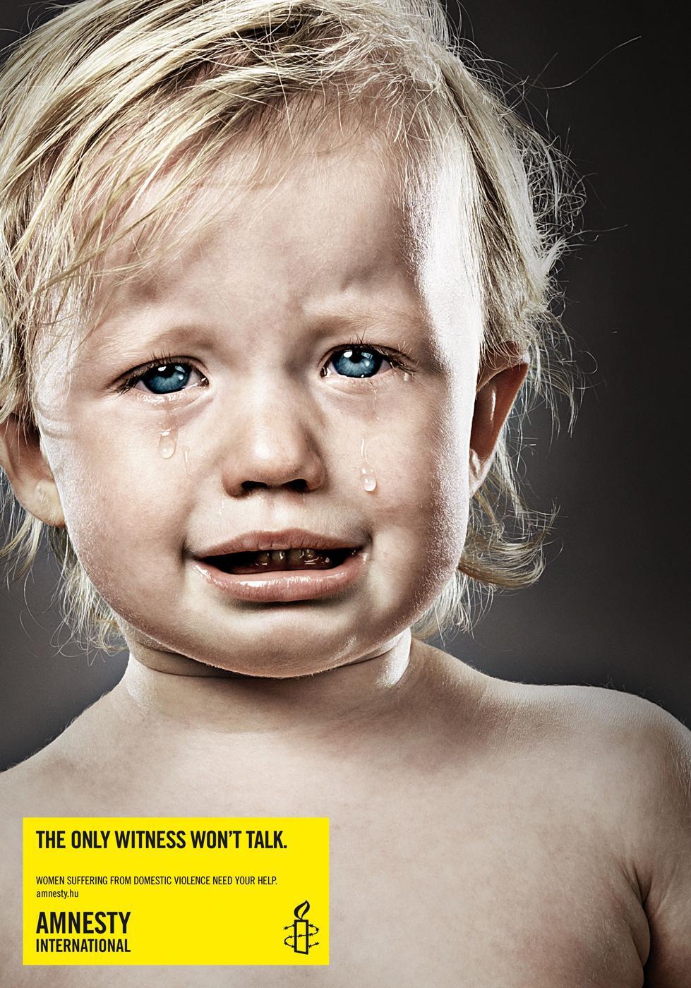 Amnesty International Print Ad -  Girl