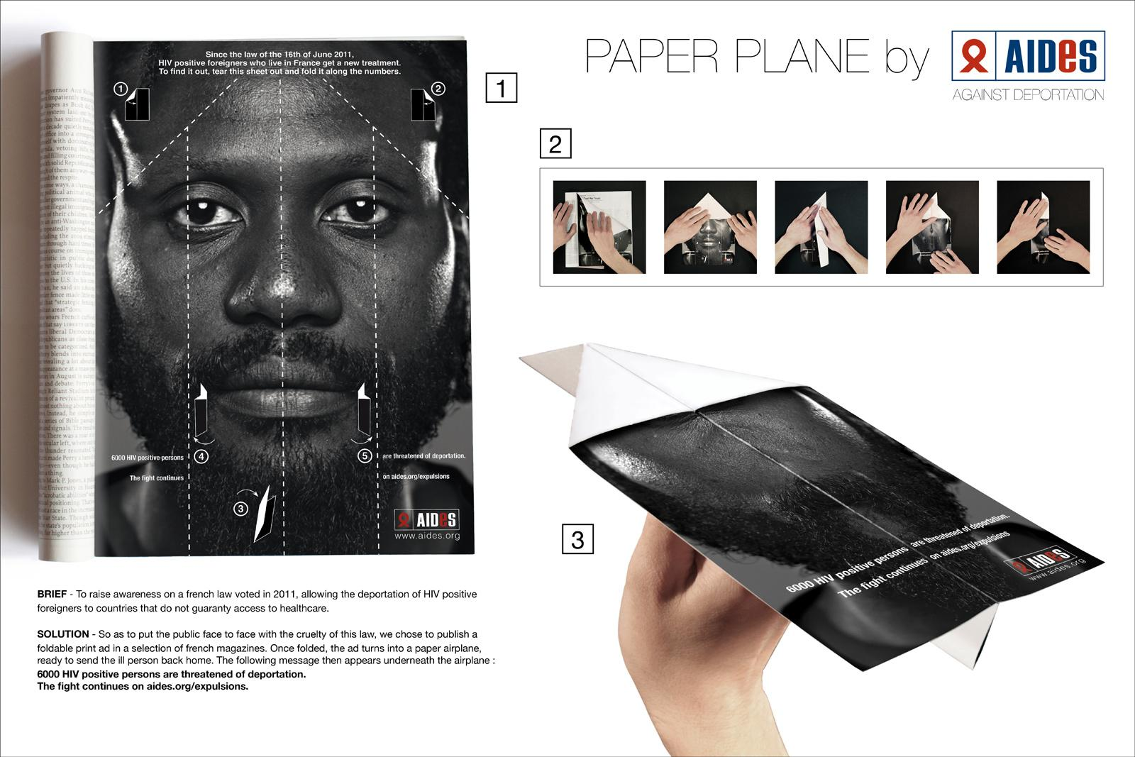 Aides Print Ad -  Expulsions