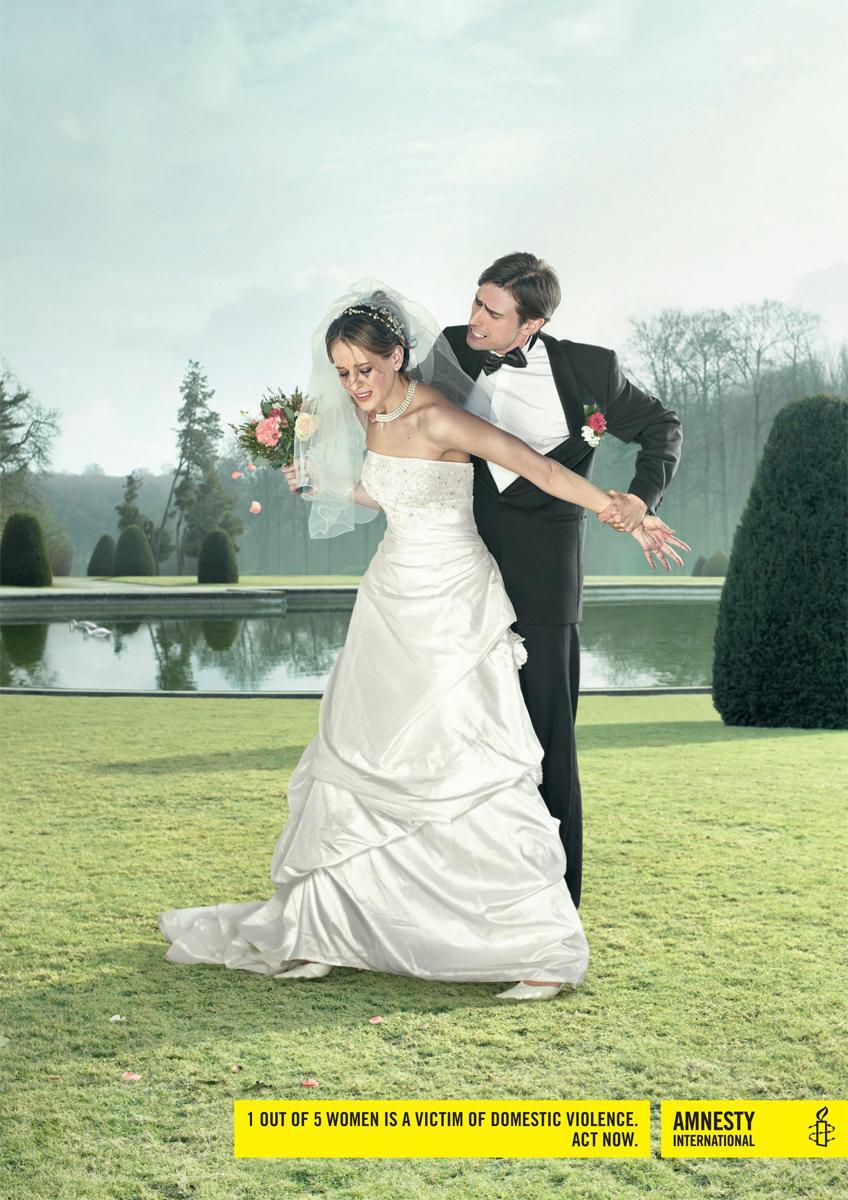 Amnesty International Print Ad -  Wedding