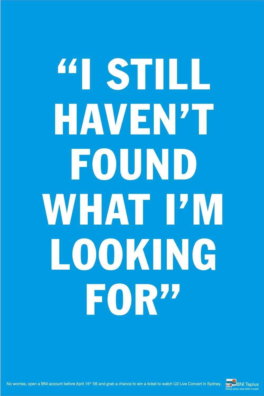 I still haven't