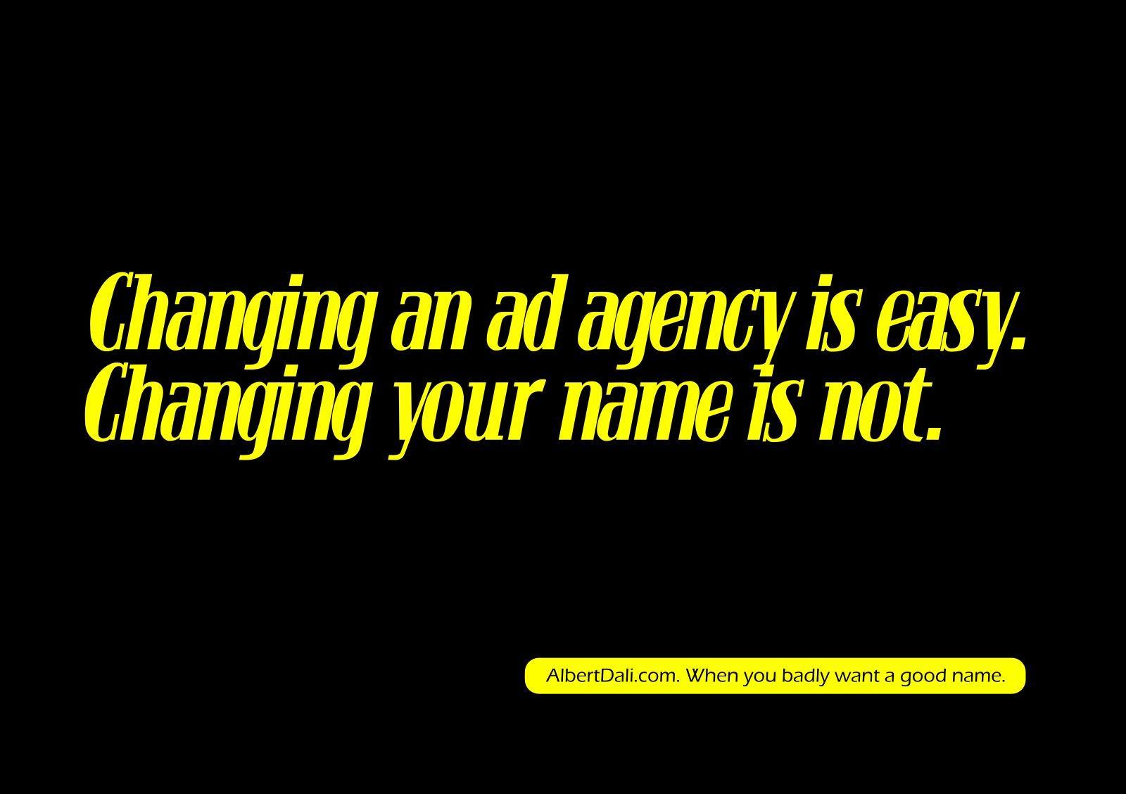 Albert Dali Print Ad -  Campaigns can suck