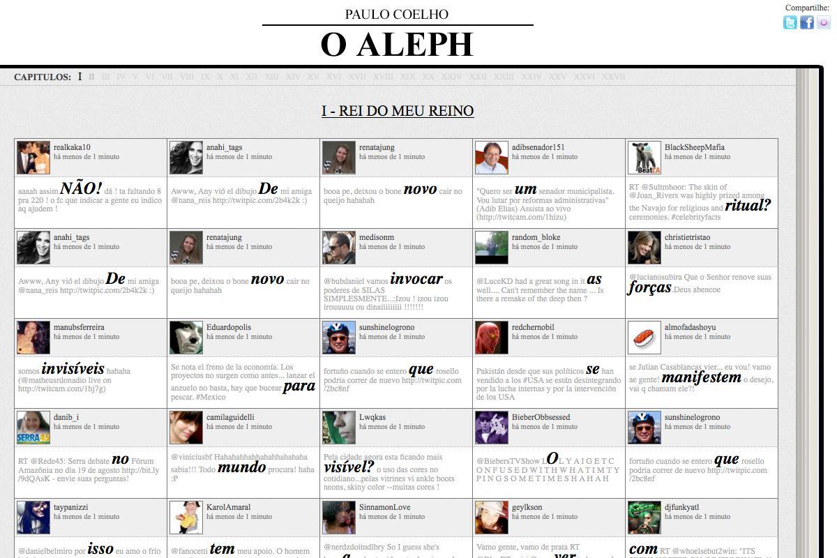 O Aleph Digital Ad -  AlephTweets