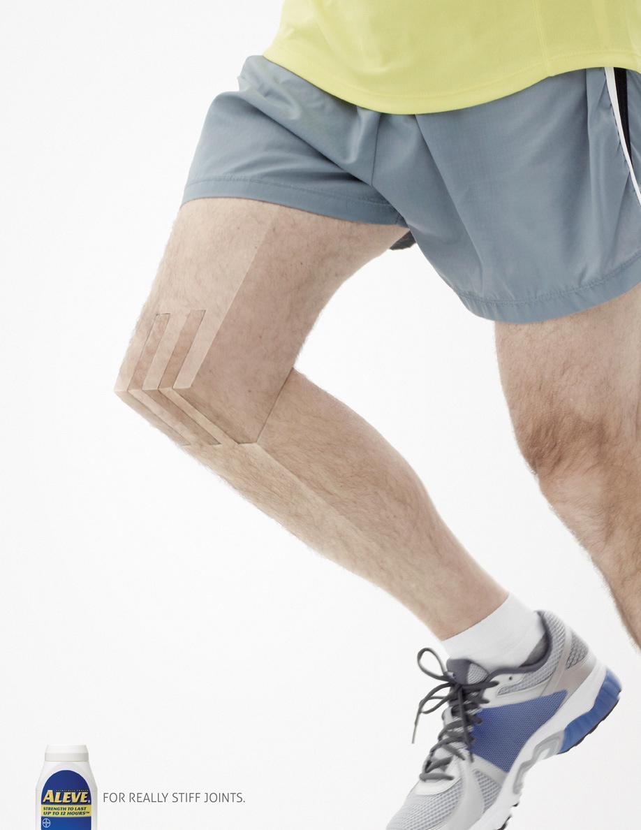 Aleve Print Ad -  Jogging