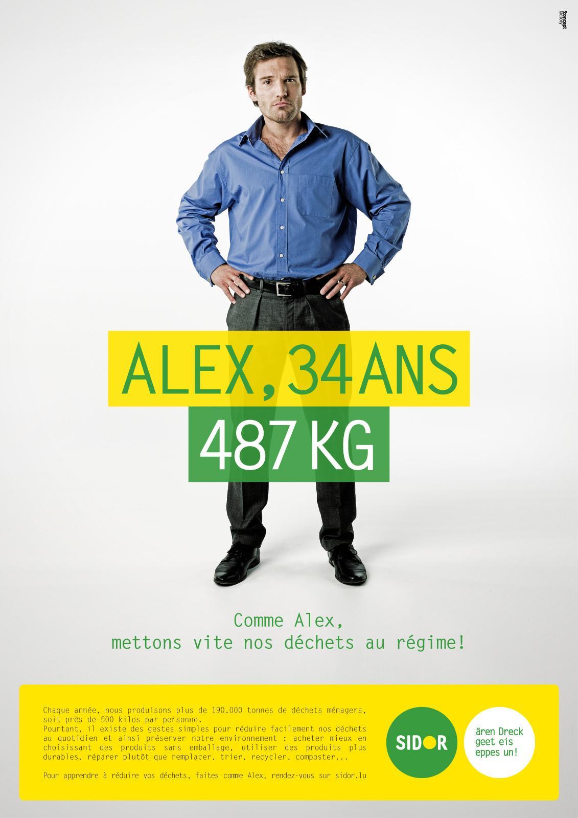 Sidor Print Ad -  Alex