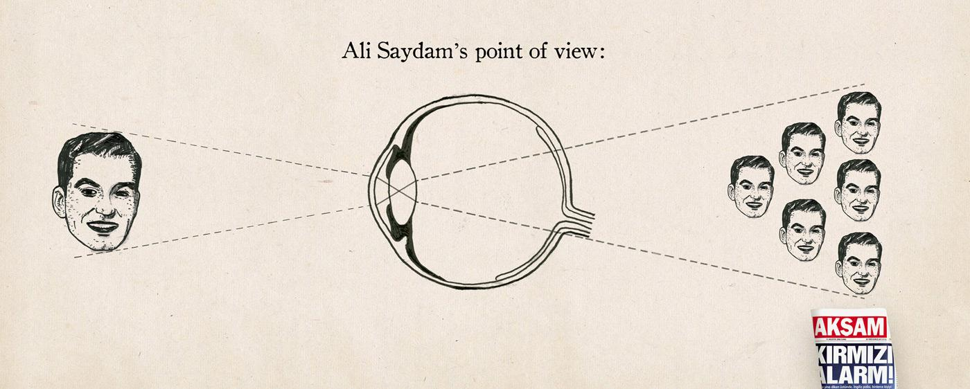 Point of view, Ali Saydam