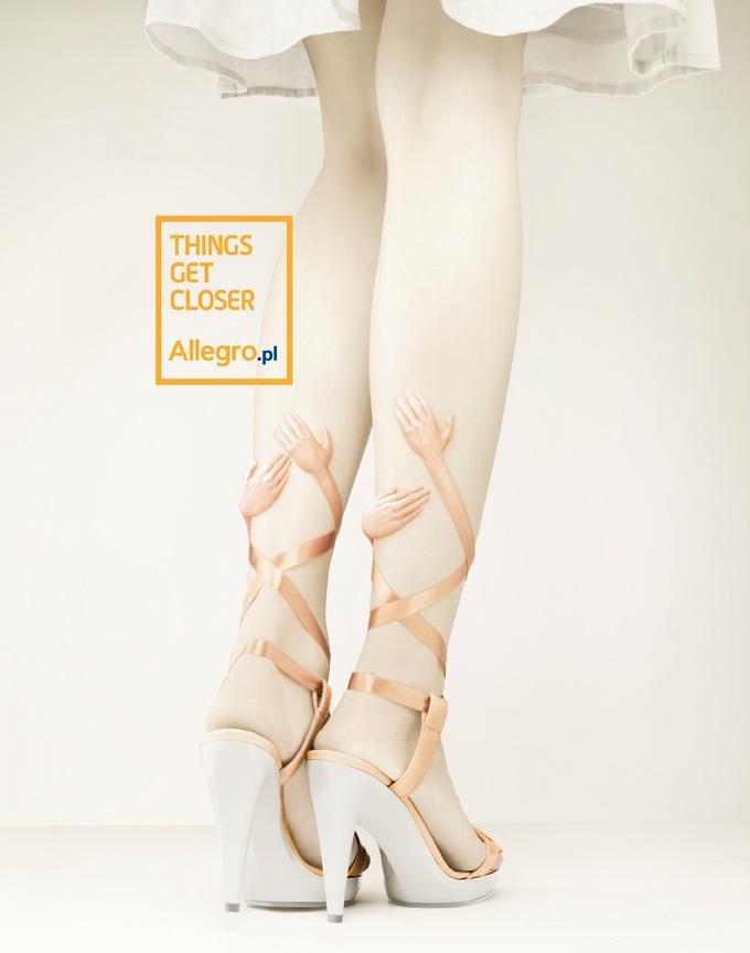Allegro Print Ad -  Shoes
