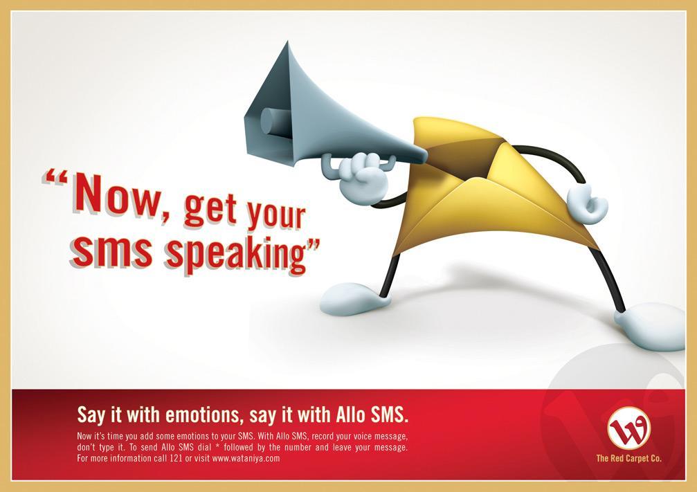 Allo sms speaking