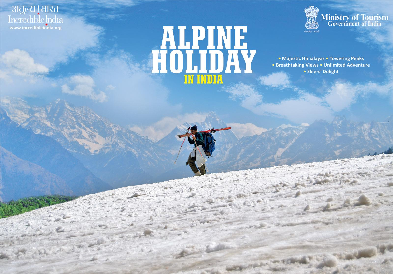 Incredible India Print Ad -  Alpine Holiday