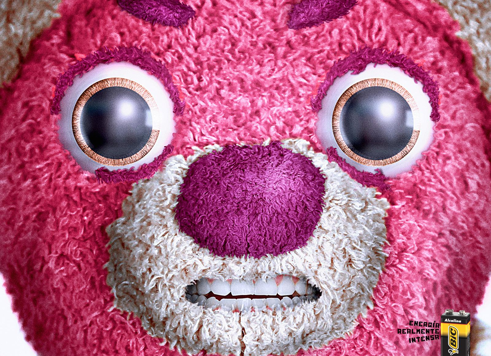BIC Print Ad -  Teddy