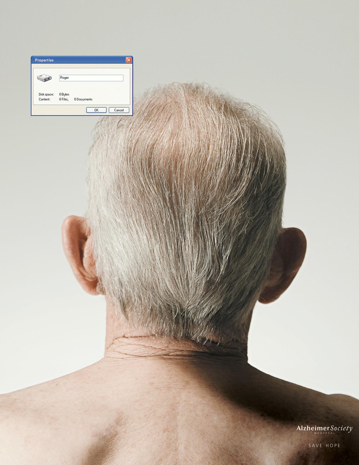 Alzheimer Society Print Ad -  Zero