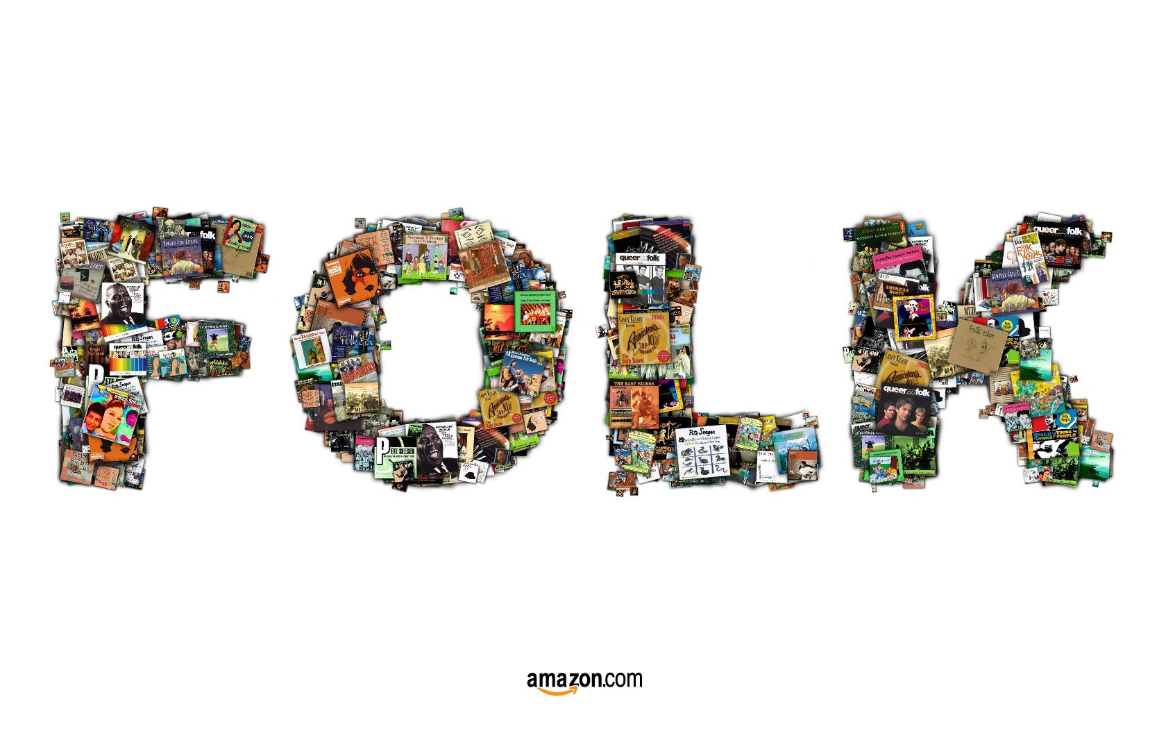 Amazon Print Ad -  Folk