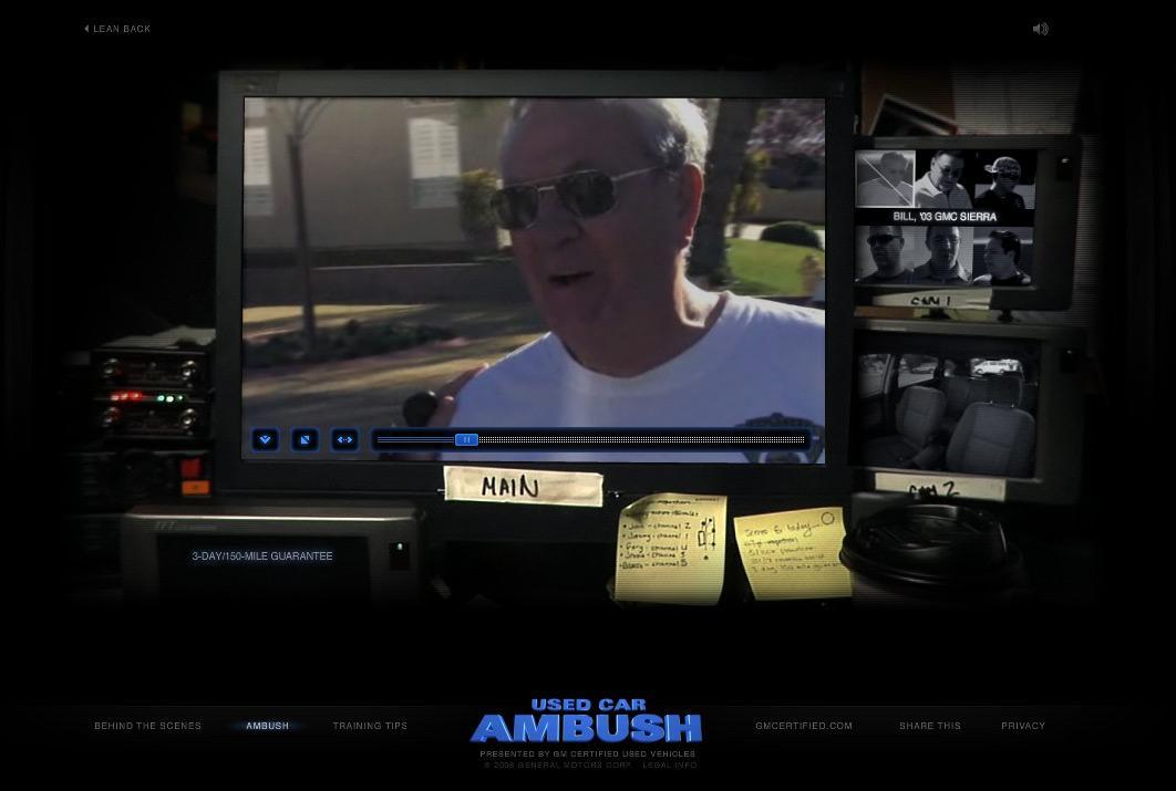 General Motors Digital Ad -  Used car ambush