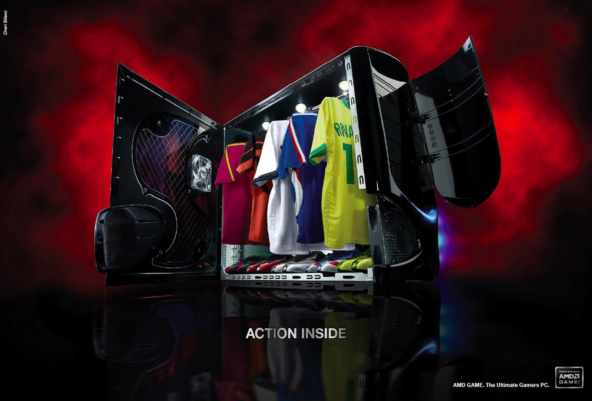 AMD Game Print Ad -  Sport