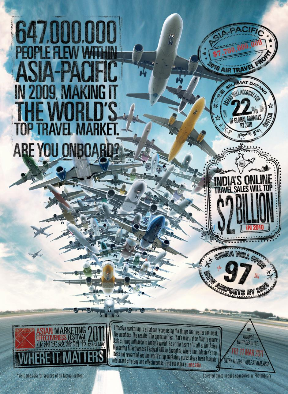 Asian Marketing Effectiveness Awards Print Ad -  Travel