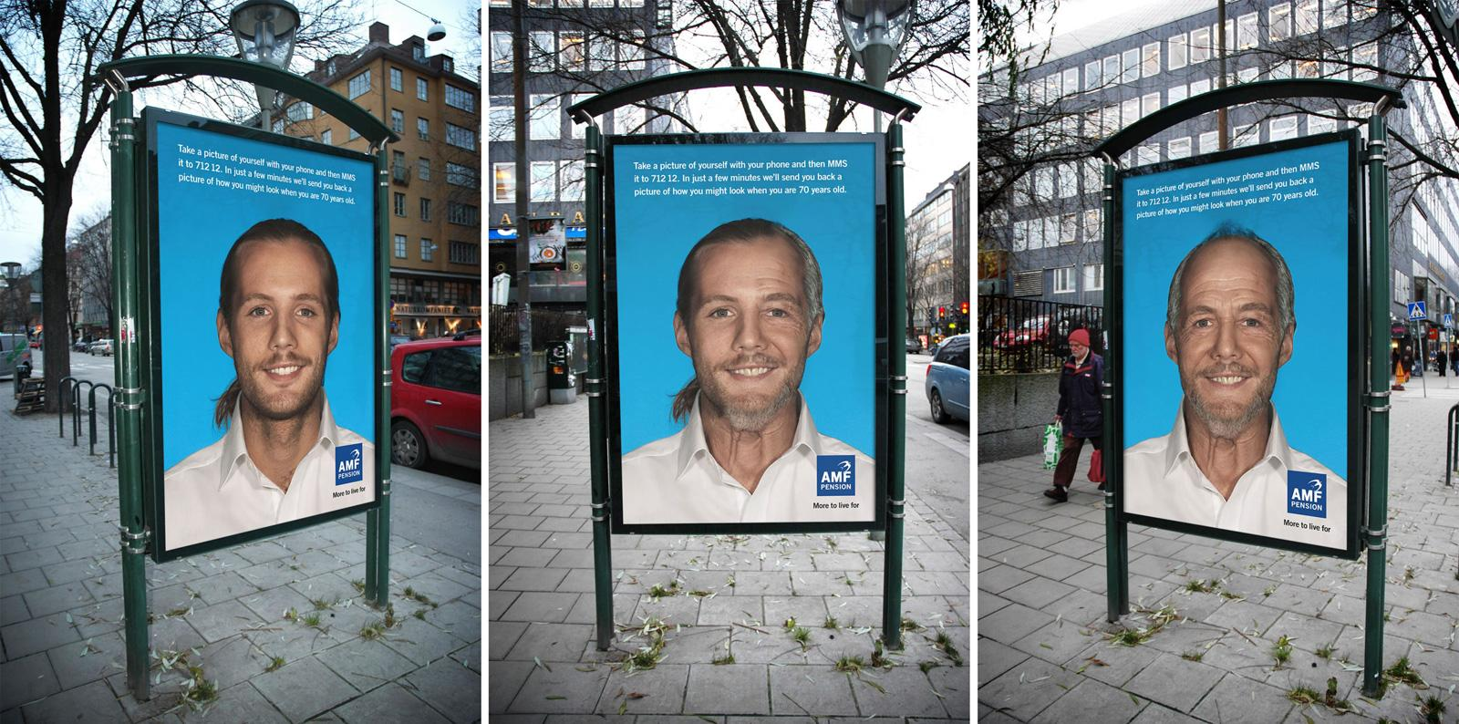 AMF Pension Outdoor Ad -  Old, 1