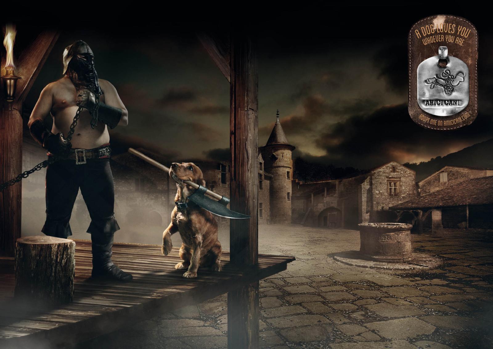 AmiciCani Print Ad -  Executioner