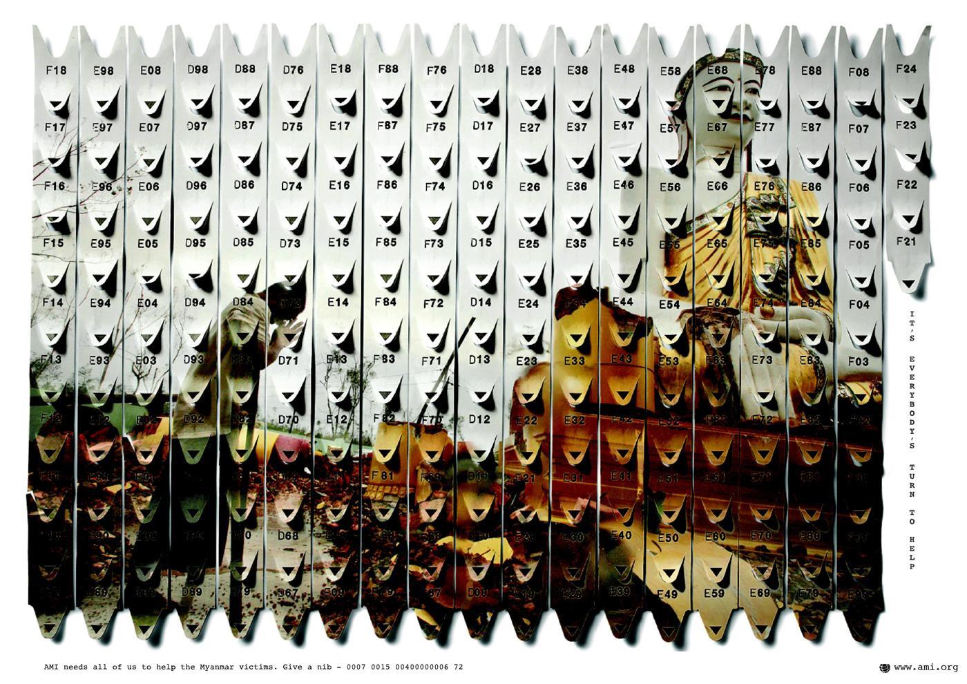AMI Print Ad -  Myanmar