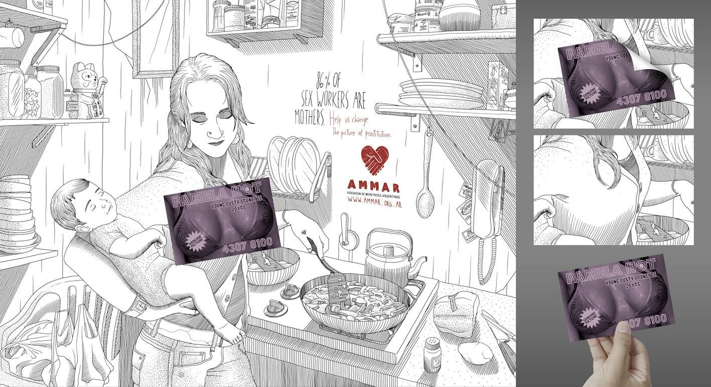 Ammar Print Ad -  Pamela