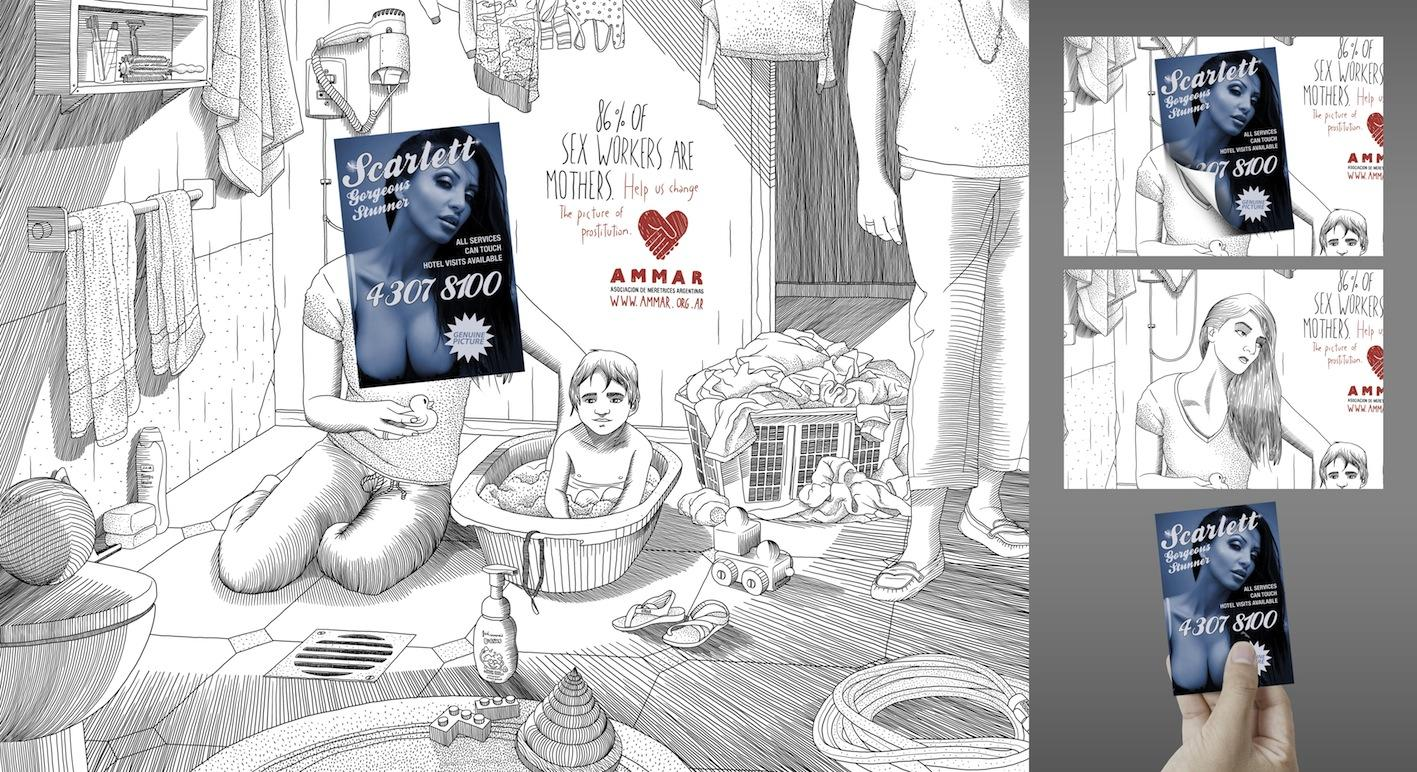 Ammar Print Ad -  Scarlett