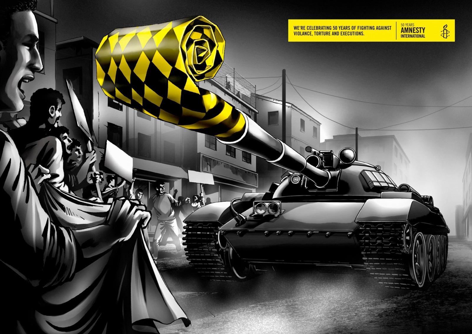Amnesty International Print Ad -  Tank