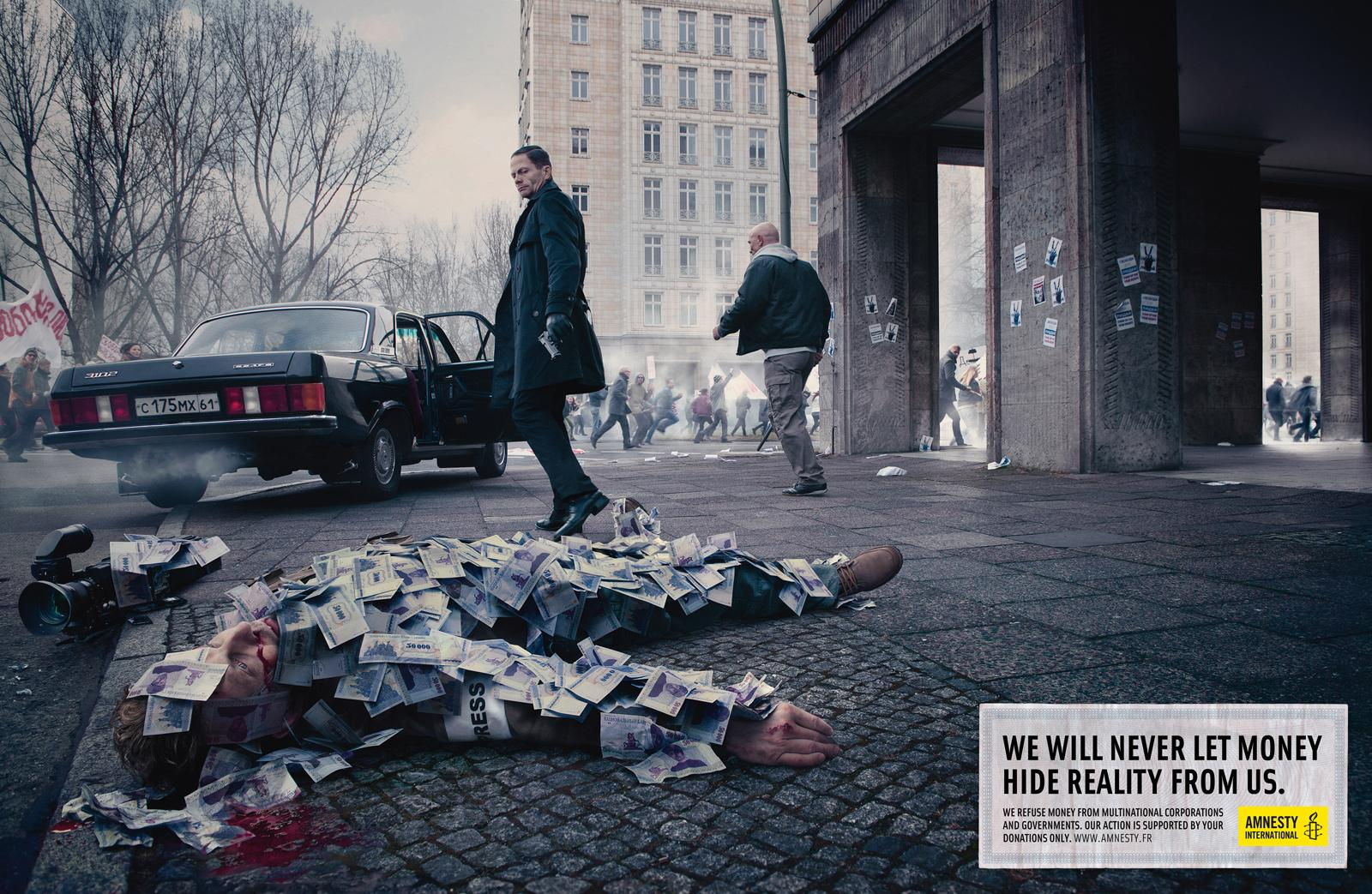 Amnesty International Print Ad -  Journalist