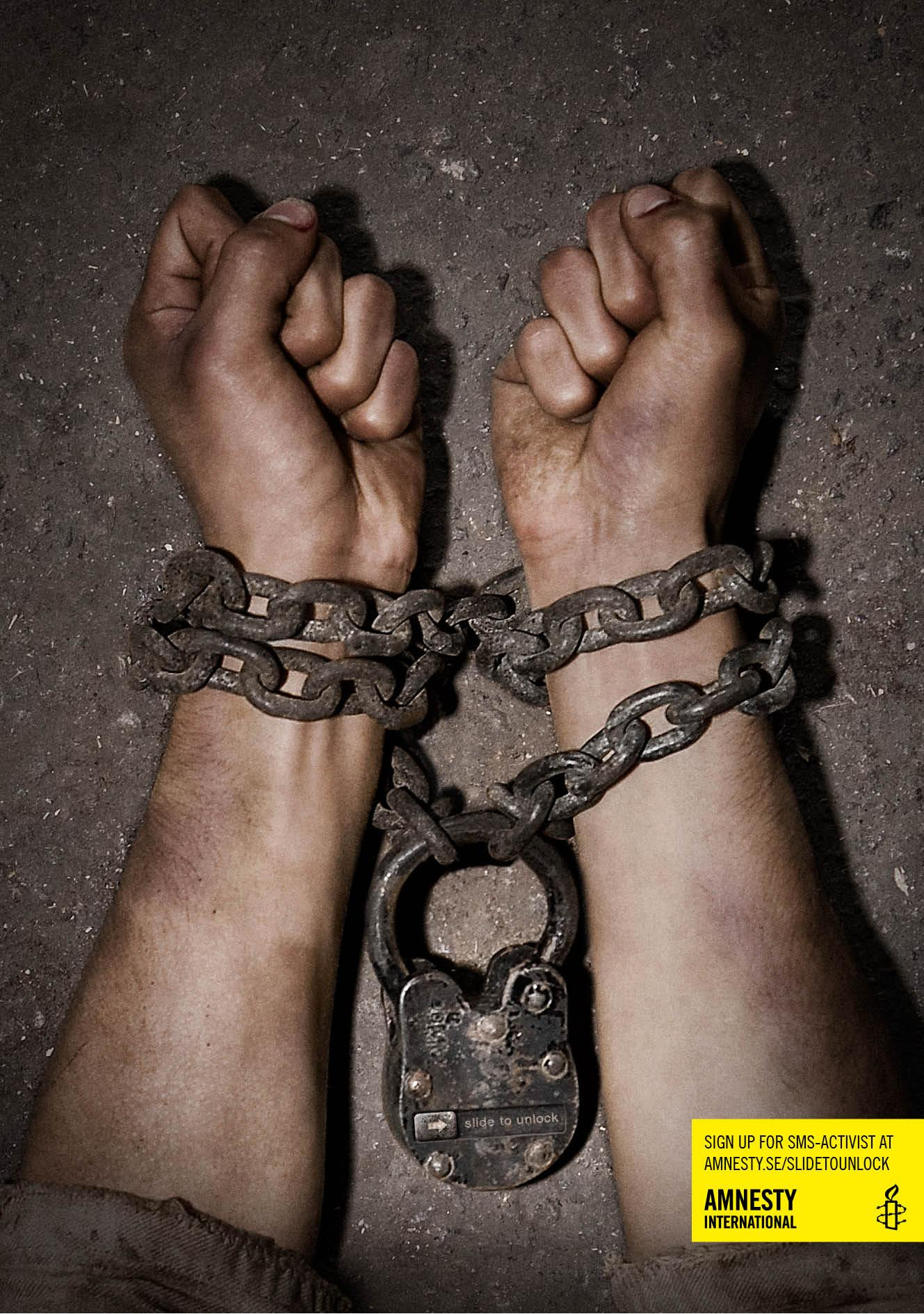 Amnesty International Print Ad -  Chains