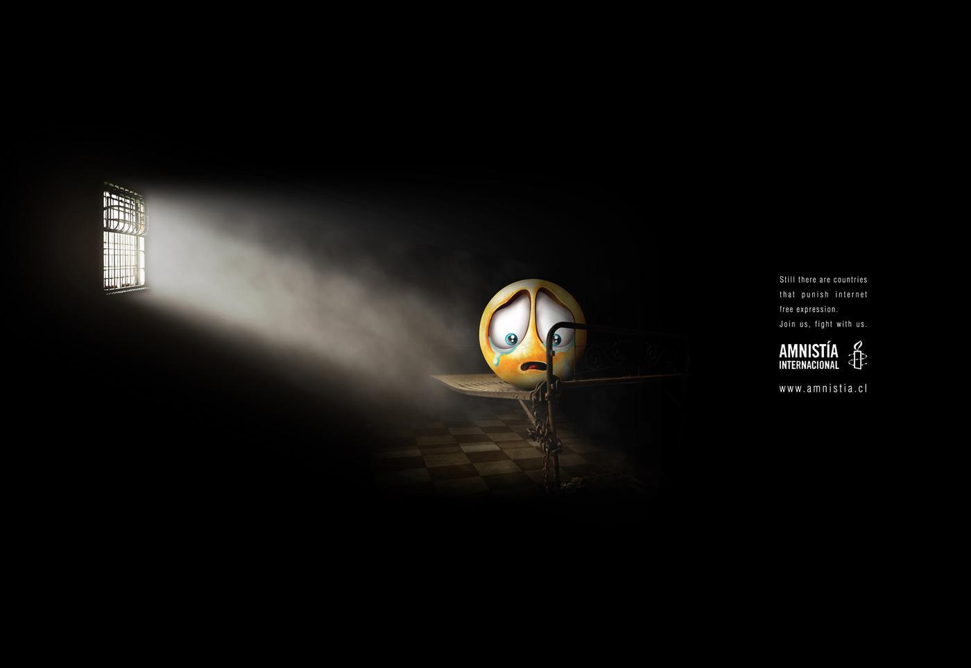 Amnesty International Print Ad -  Internet, 2