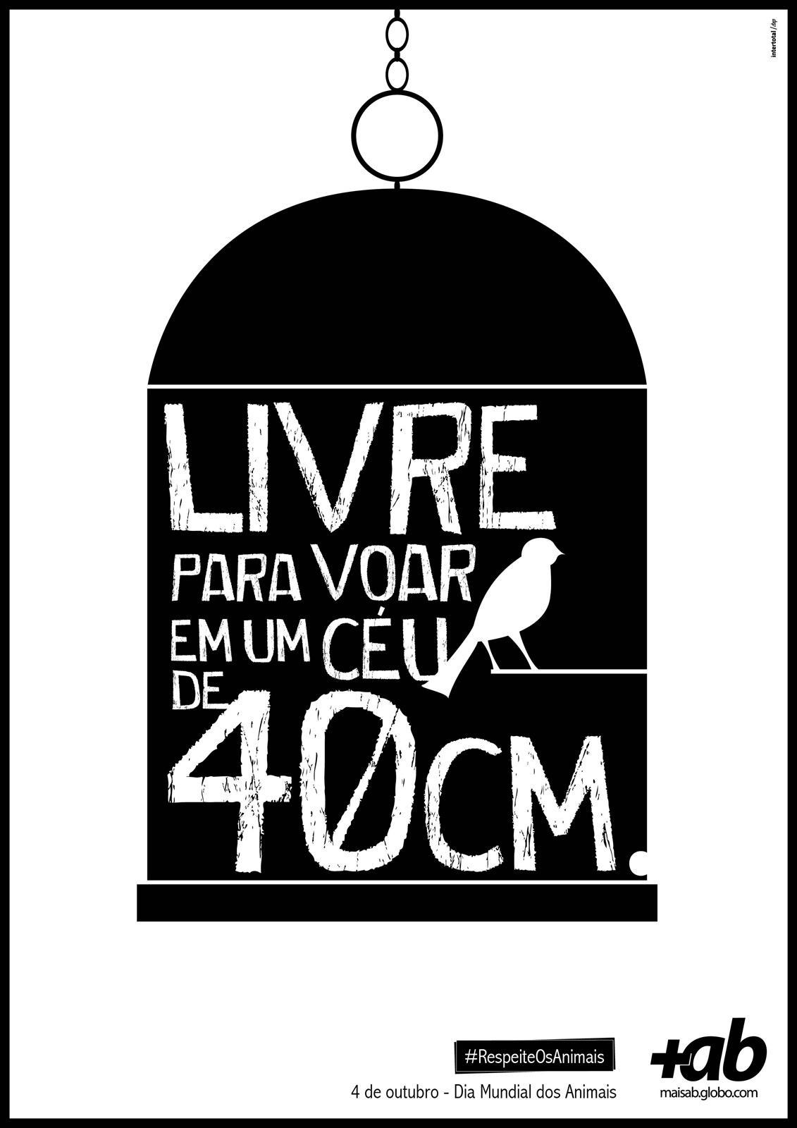 Portal MaisAB Print Ad -  World Day of Animals, Bird