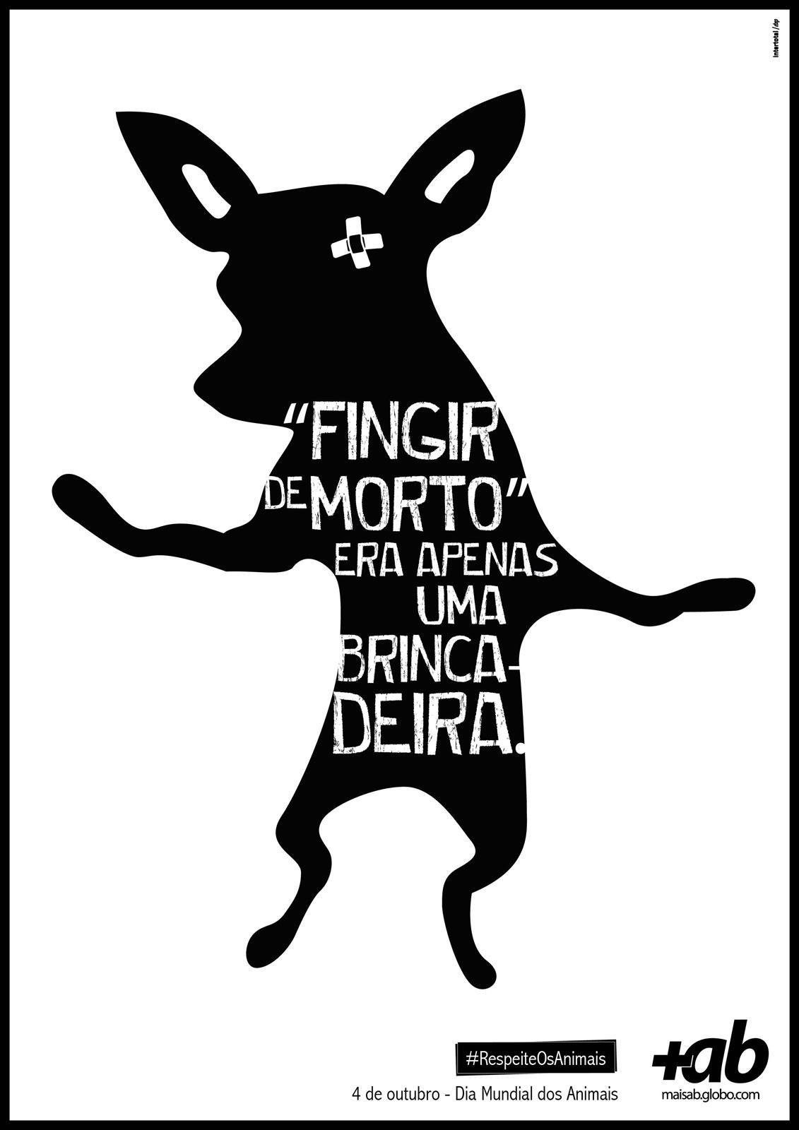 Portal MaisAB Print Ad -  World Day of Animals, Dog