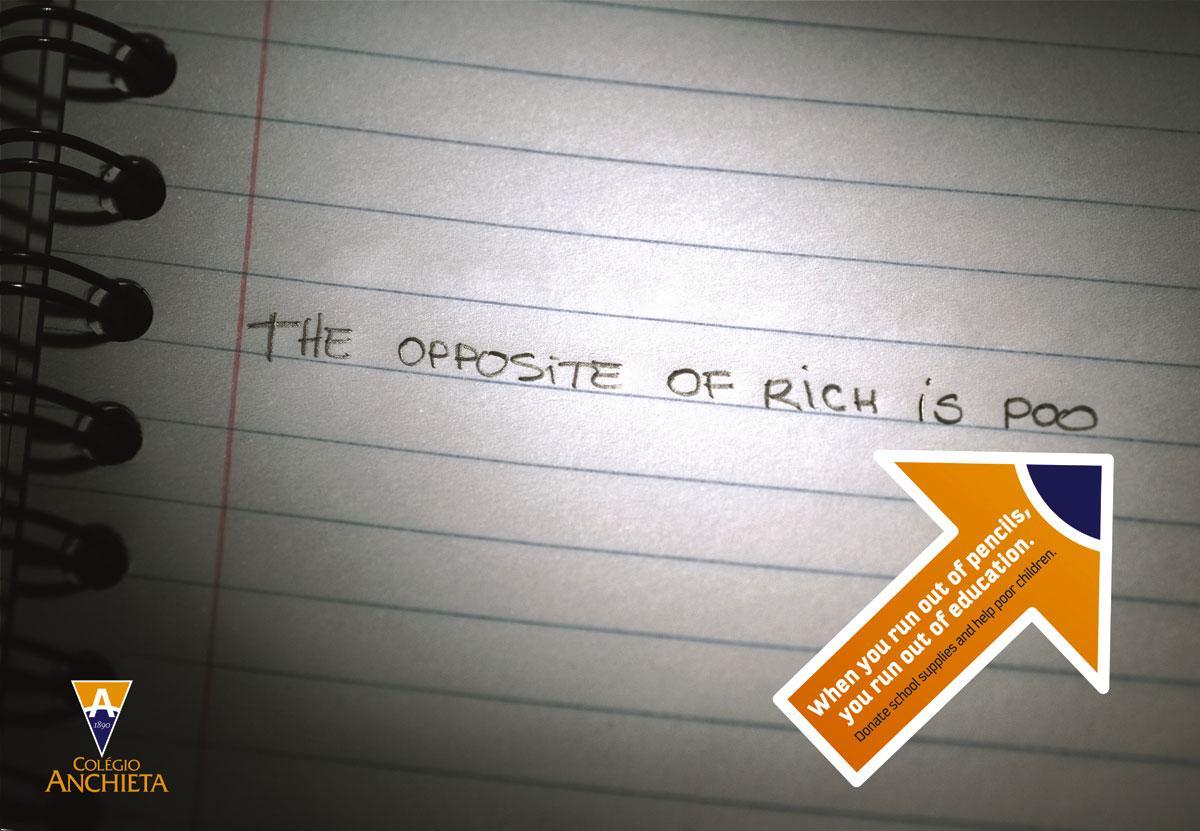 Anchieta Print Ad -  Rich