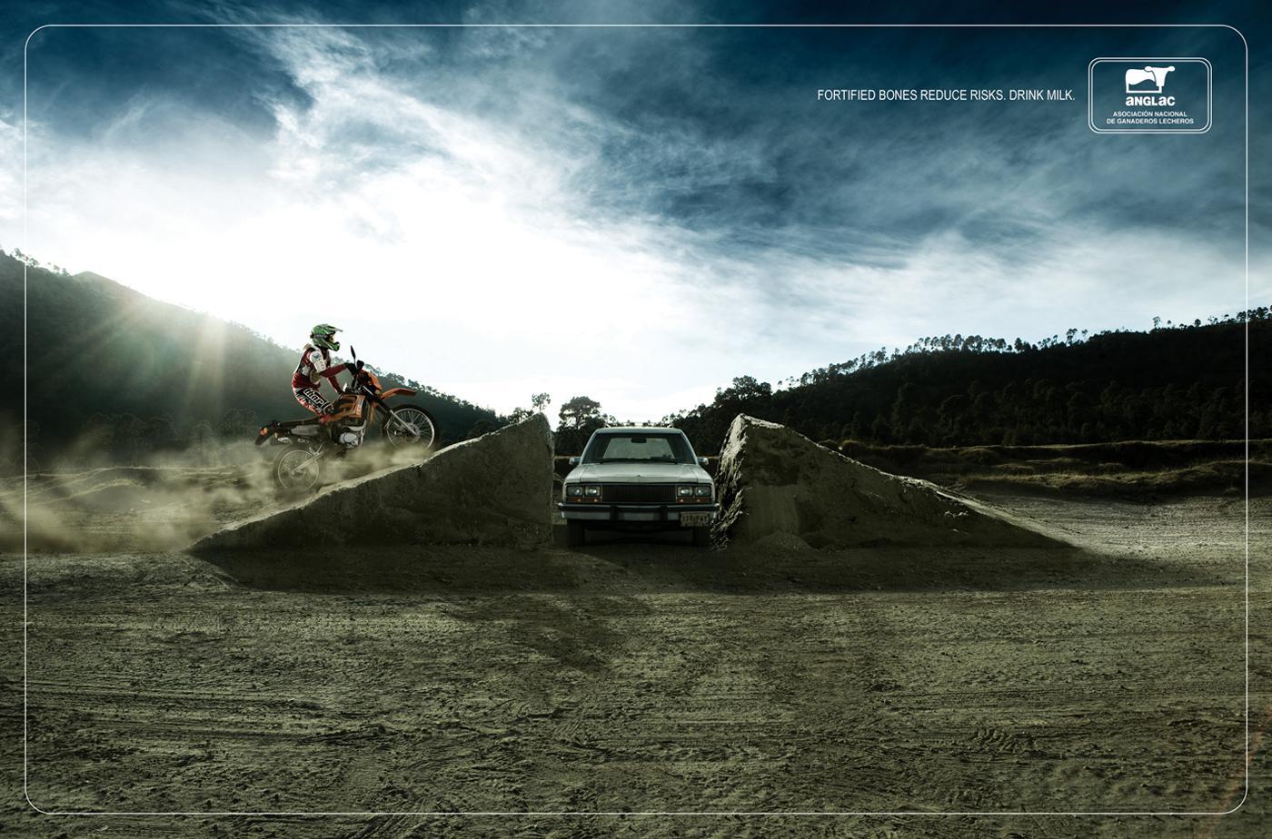 Anglac Print Ad -  Stuntman