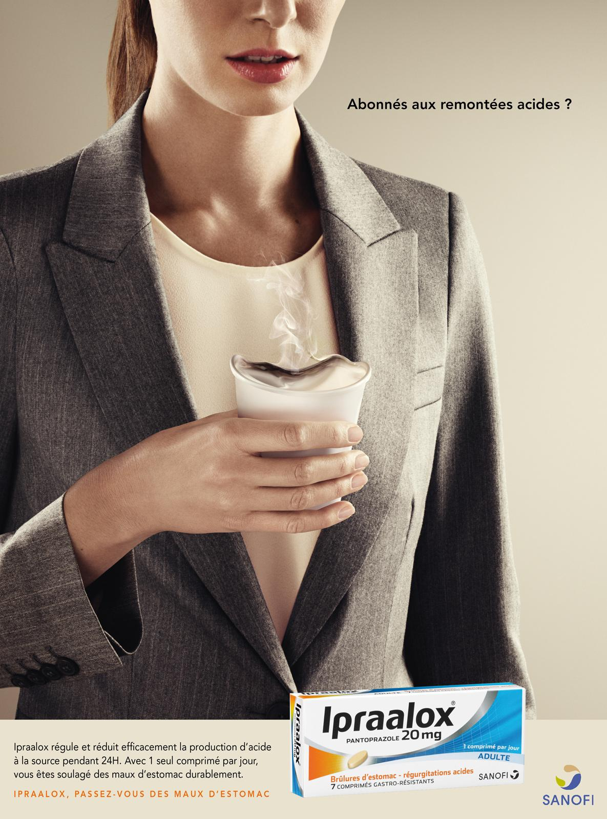 Sanofi Print Ad -  Cup