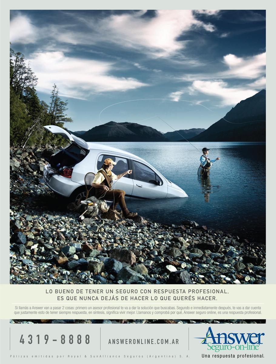 Answer Print Ad -  Fishing