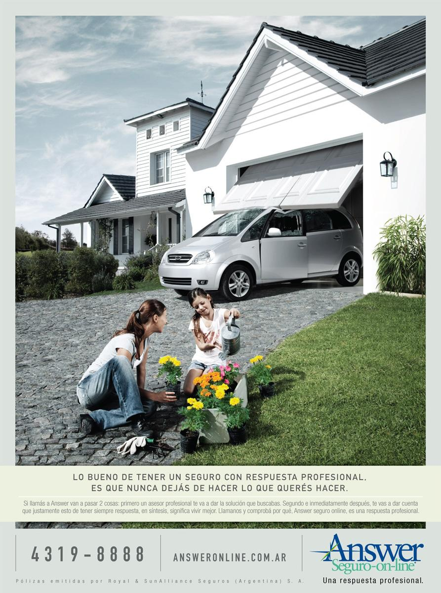 Answer Print Ad -  Planting