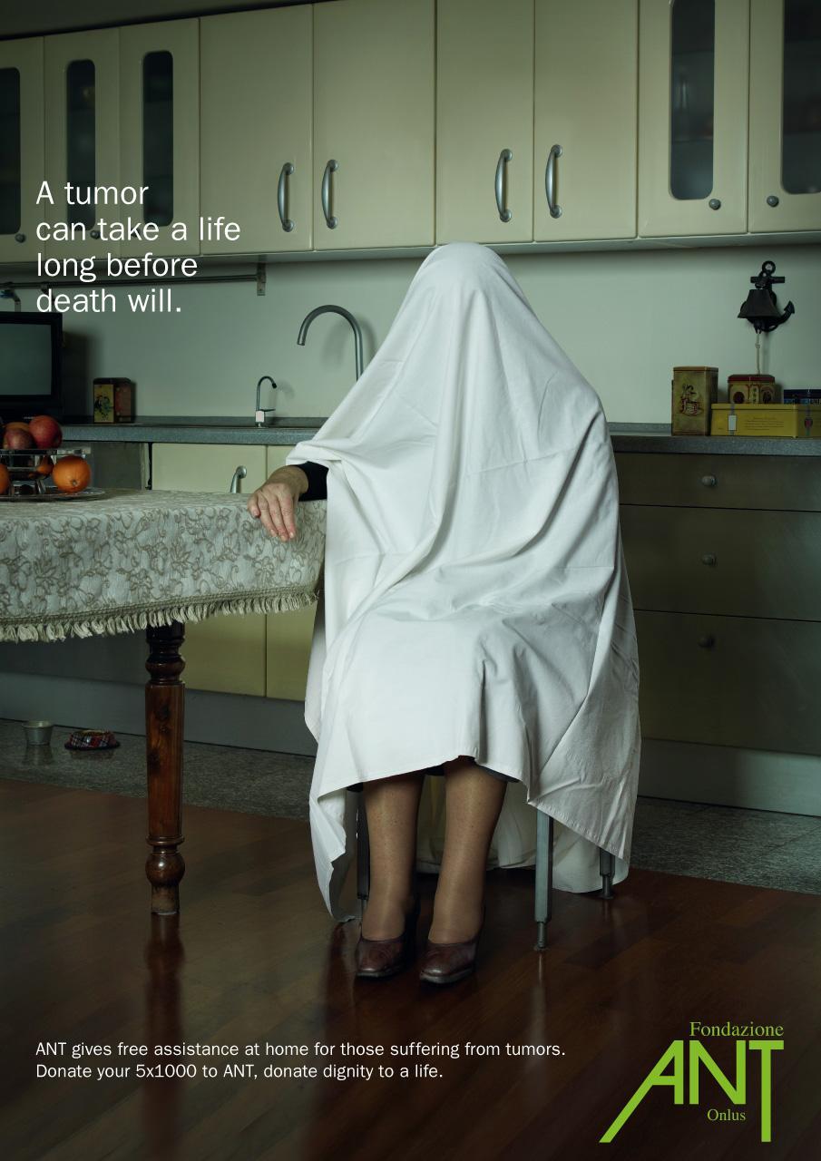 Associazione Nazionale Tumori Print Ad -  Kitchen
