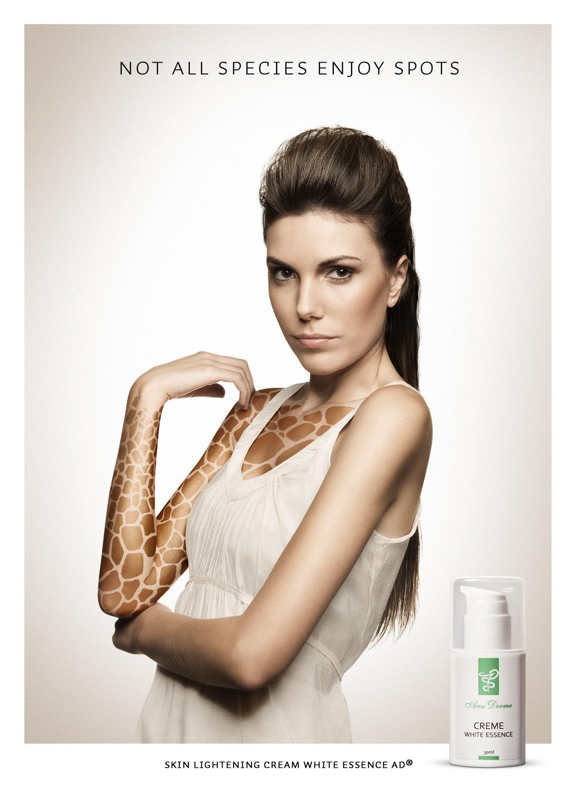 Ana Derme Print Ad -  Giraffe