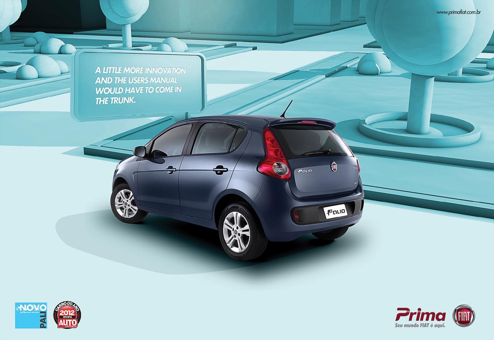 Fiat Print Ad -  Novo Pálio, 2