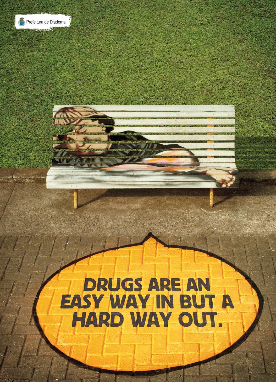 Diadema City Outdoor Ad -  Drugs, 2