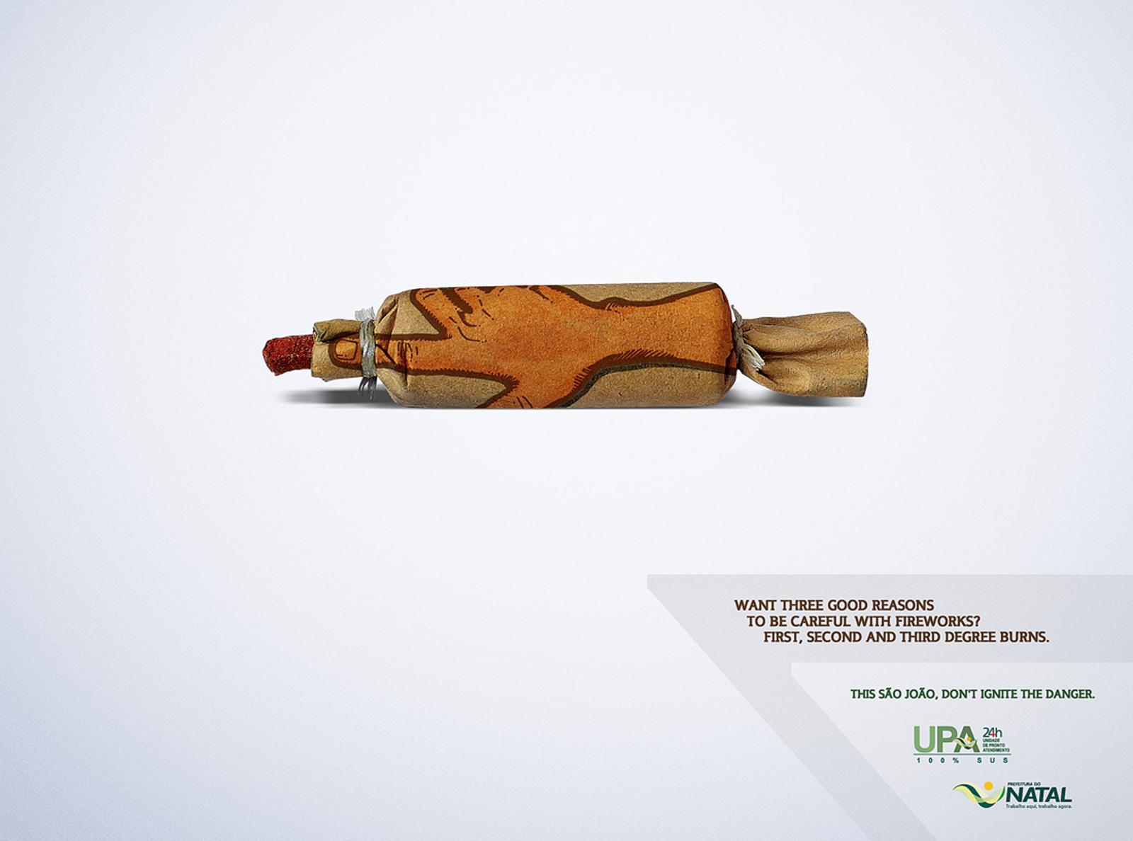 Natal Print Ad -  Fireworks, 2