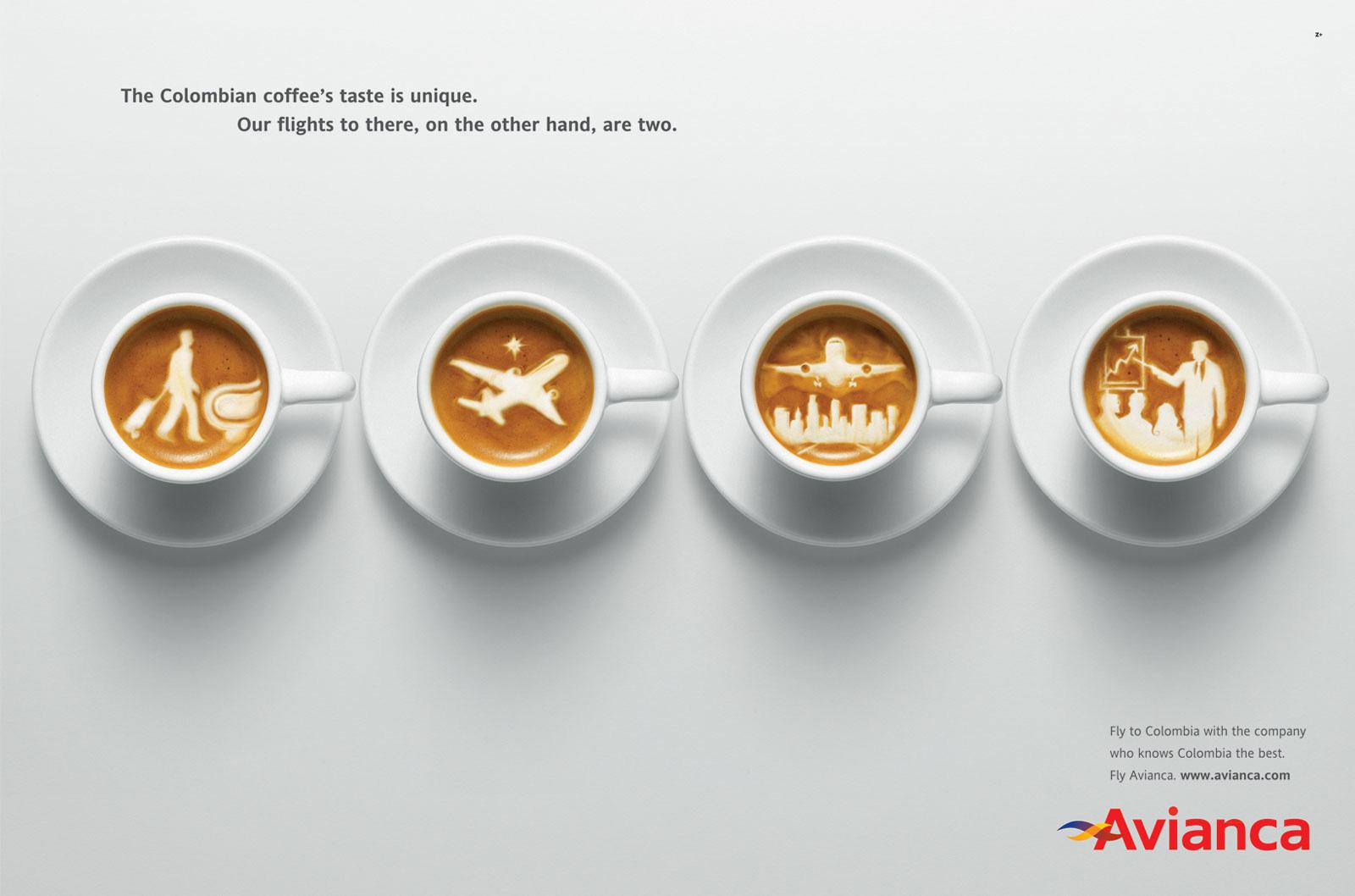 Avianca Print Ad -  Coffee, 1
