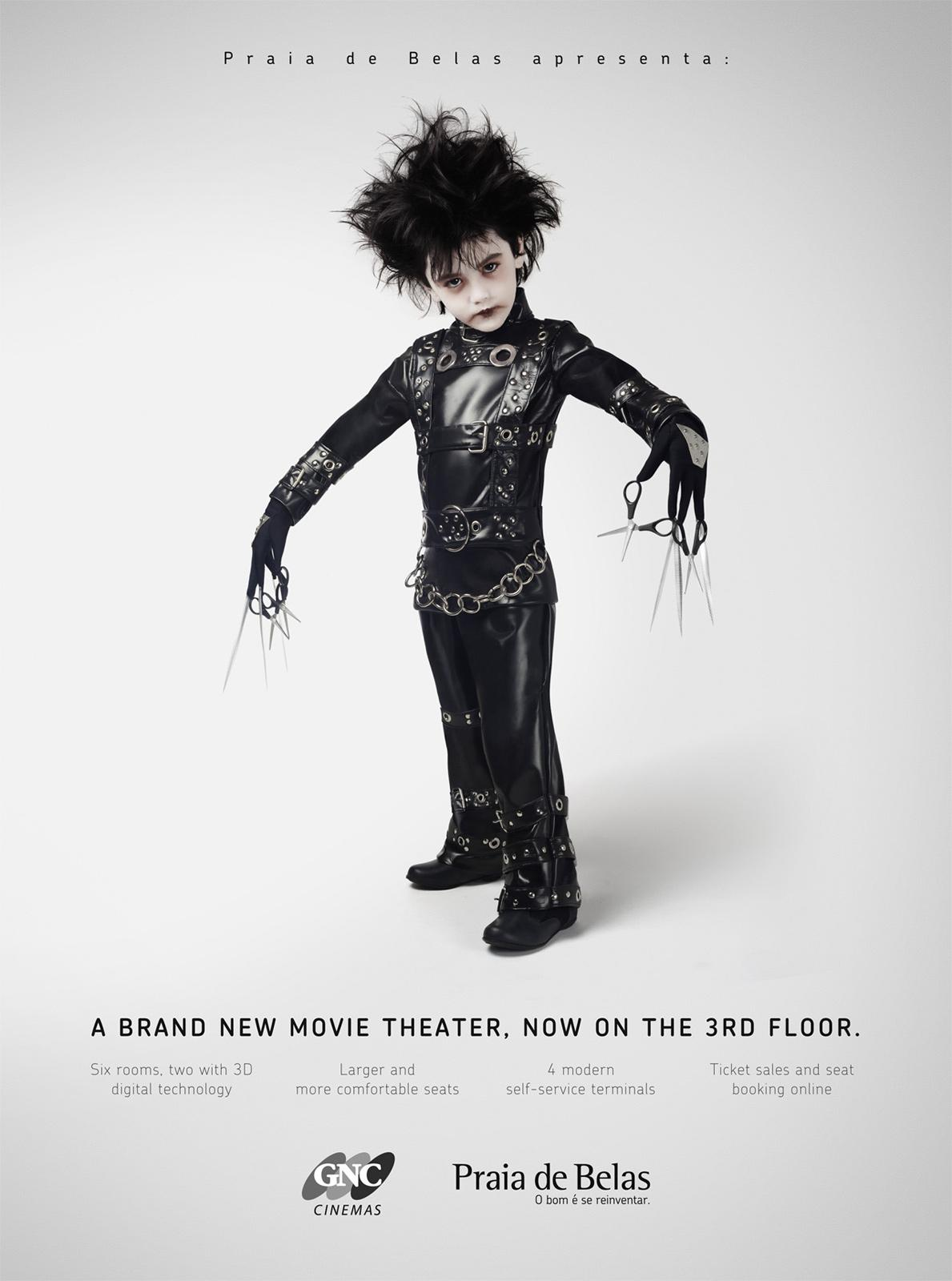 Praia de Belas Print Ad -  A brand new movie theater. 3