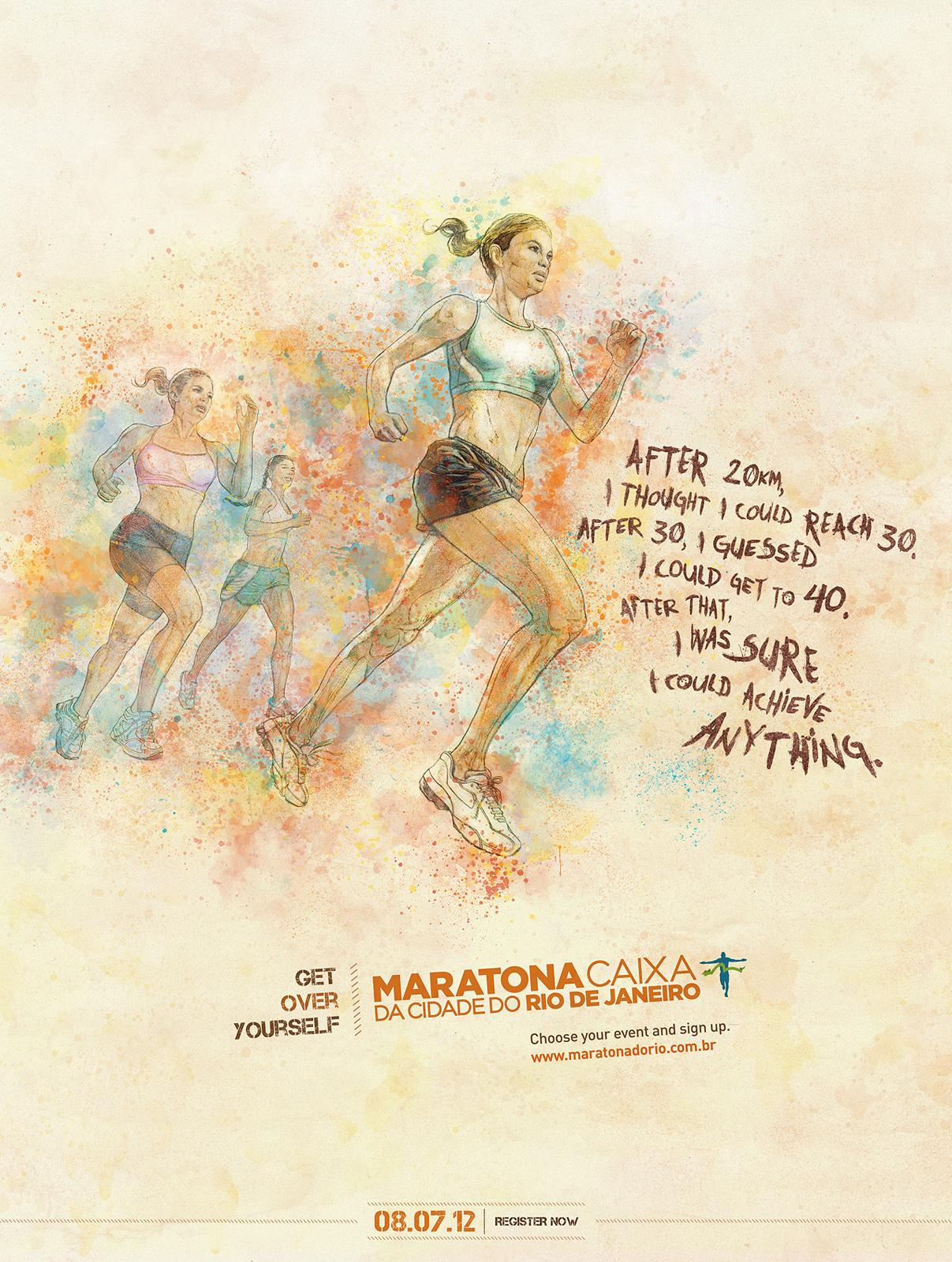 Maratona do Rio Print Ad -  Anything